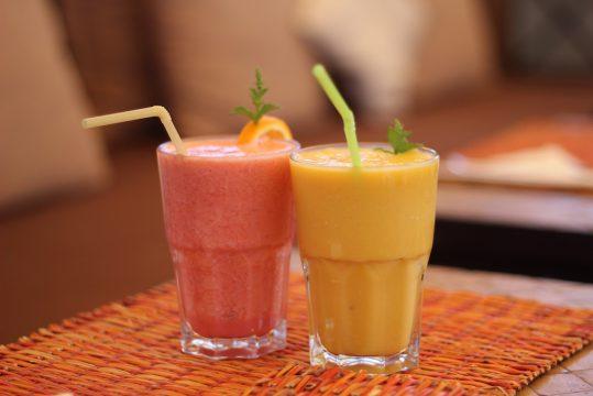 Un dejeuner a Marrakech
