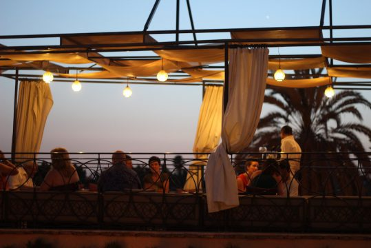 Cafe Arabe Marrakech Morocco