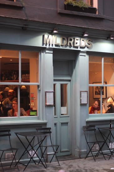 Mildreds vegetarian restaurant London