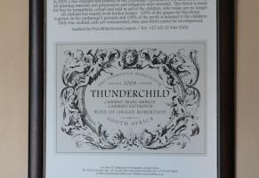 Thunderchild wine in Robertson