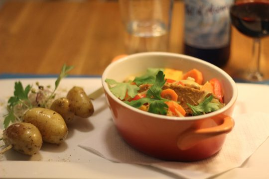 A Table Namur restaurant belgian ardennes organic food