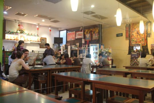 Singapore vegetarian restaurant