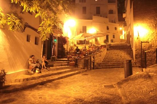 sescalinata ibiza town