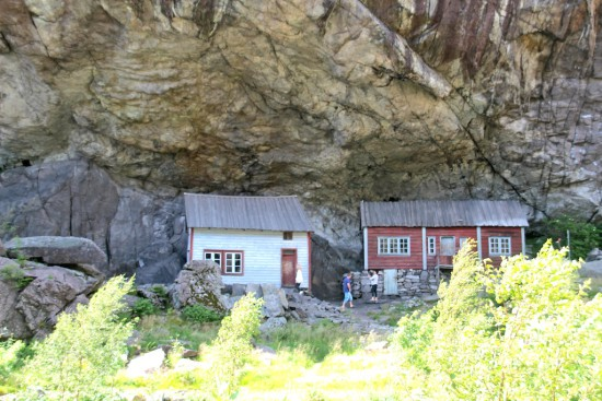 Oldest wooden houses Norway