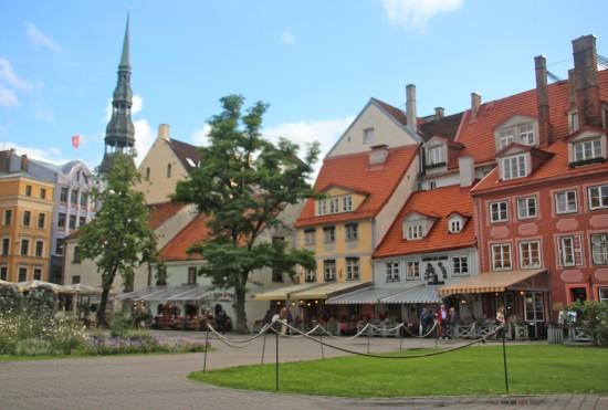 Liva square Riga