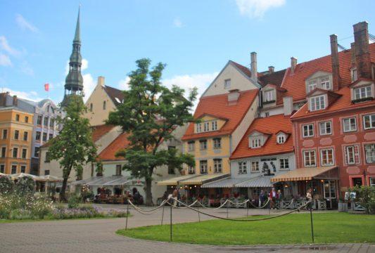 Riga Livu square