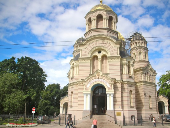 Riga Orthodox church