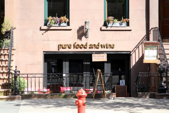 Pure Food and Wine New York