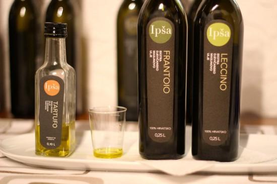 ipsa olive oil tasting