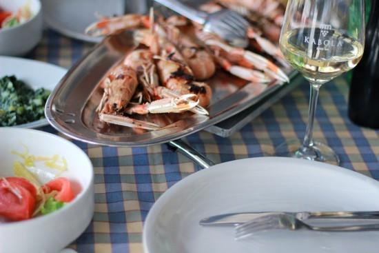 scampis restaurant riva cres kvarner croatia