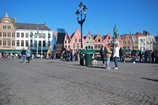 market Bruges Brugge