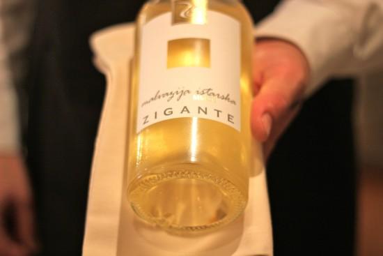 restaurant zigante wine
