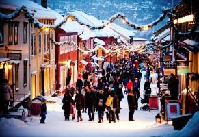 Winter wonderland in Røros and Trondheim, Trøndelag