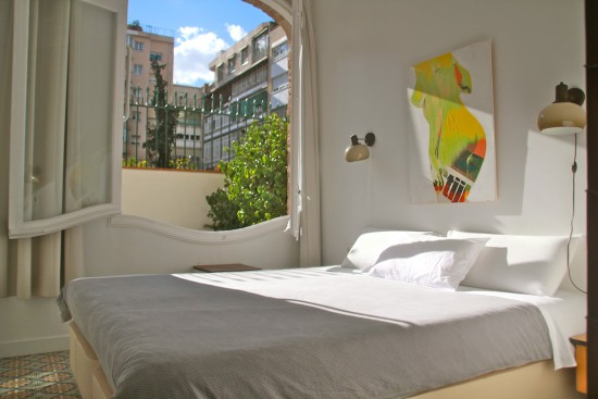 Hotel Retrome Barcelona vintage eixample vintage hotel