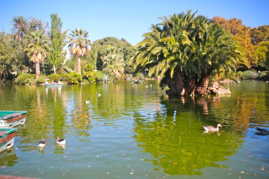 Park Ciutadella Barcelona green travel