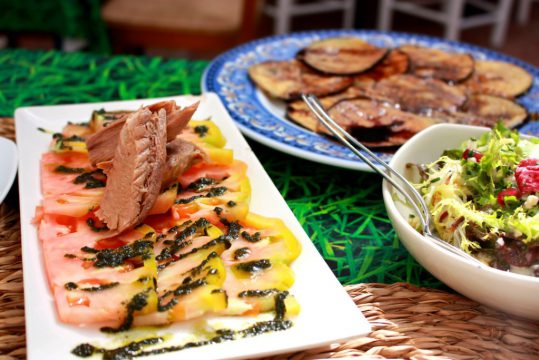 The Farm Marbella organic restaurant Andalucia Spain