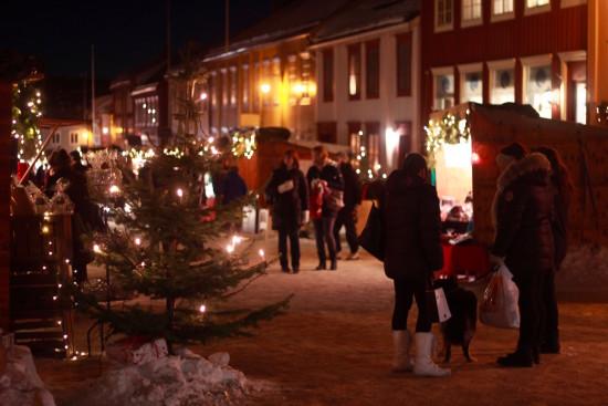 Røros christmas market Trøndelag Norway