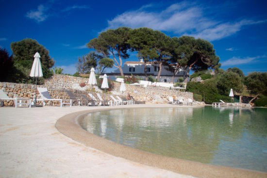 Boutique Hotel Binigaus Vell Es Migjorn Gran boutique hotels Menorca rural hotel