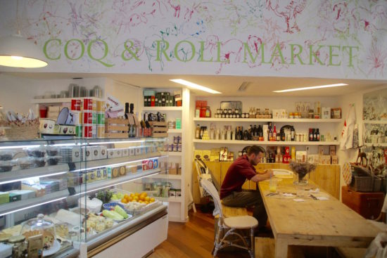 Coq & Roll Market Seville organic food pure restaurant healthy food sevilla