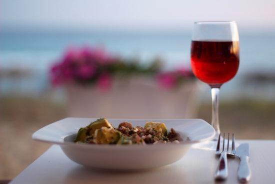 Xiringuito Es Corb Mari in Son Bou Menorca restaurants tips local food organic