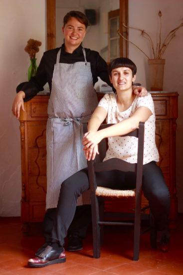 Cas Ferrer de sa font in Ciutadella Menorca restaurants organic restaurant