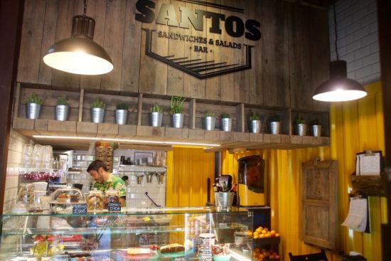 Santos restaurant Seville Sevilla healthy food