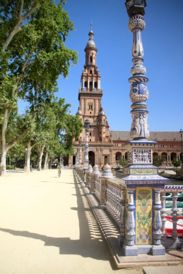 Seville Plaza Espanya Sevilla Andalusia Andalucia Spain things to do in Seville
