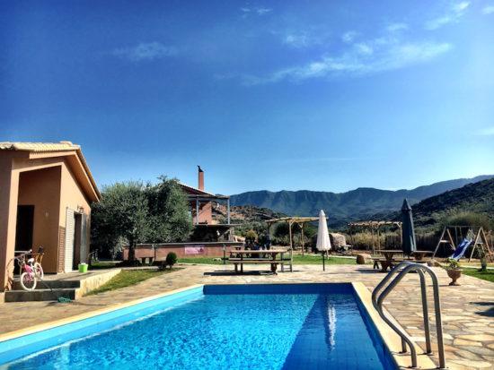 Socrates Organic Village Messolonghi organic hotel Greece