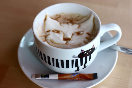 Café Miao Copenhagen catte latte cappuccino