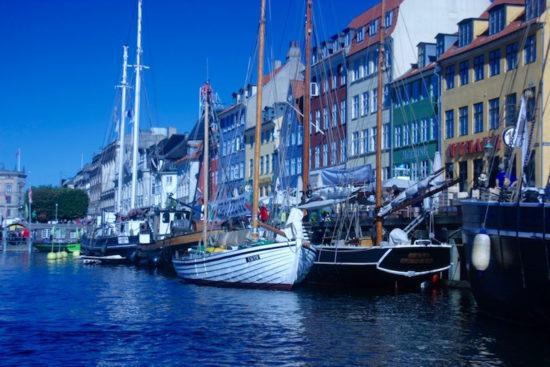 Nyhavn boat trip Copenhagen gammel strand