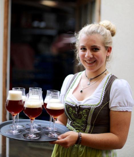 Chestnut beer south tyrol klausen
