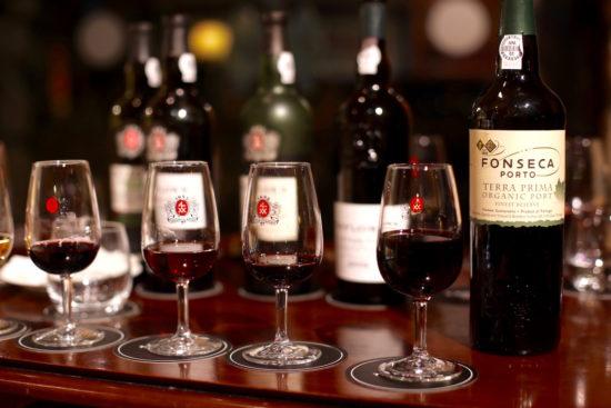 Fonseca organic port wine porto