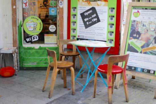 Lombardia Antwerp vegan gluten-free restaurant restaurants organic healthy food Antwerp tips