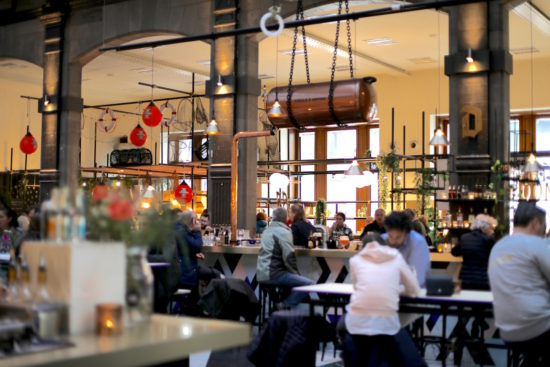 Mercado food market Antwerp Belgium Antwerpen