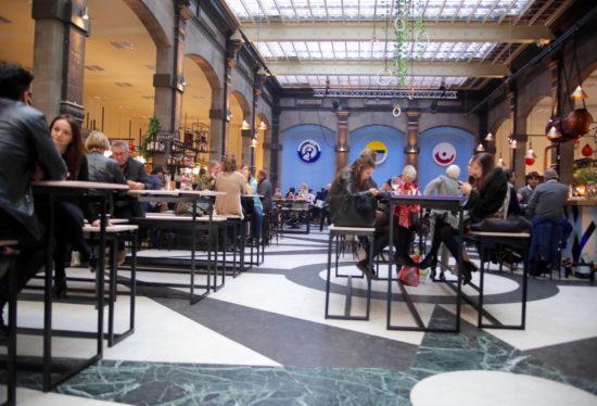 Mercado food market Antwerp