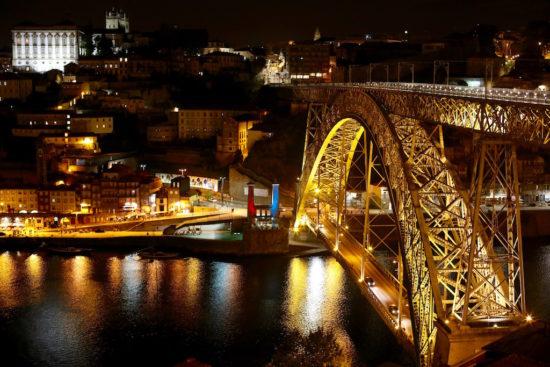 Ponte Dom Luis Porto bridge travel