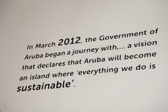 Aruba sustainable sustainability dutch caribbean