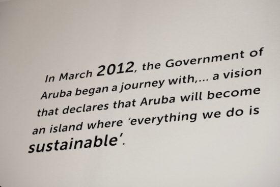Aruba sustainable sustainability dutch caribbean