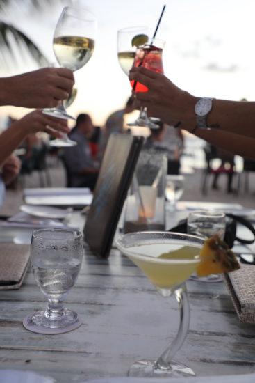 Barefoot restaurant Aruba cocktails beach restaurant aruba