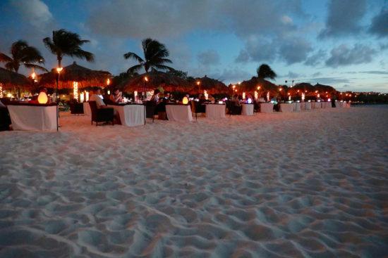 Passions on the beach Aruba restaurants