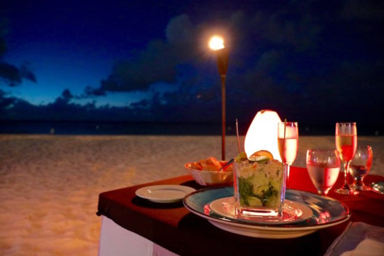 Passions on the beach Aruba beach restaurant Eagle Beach Aruba restaurants