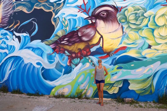 San Nicolas street art Aruba art fair