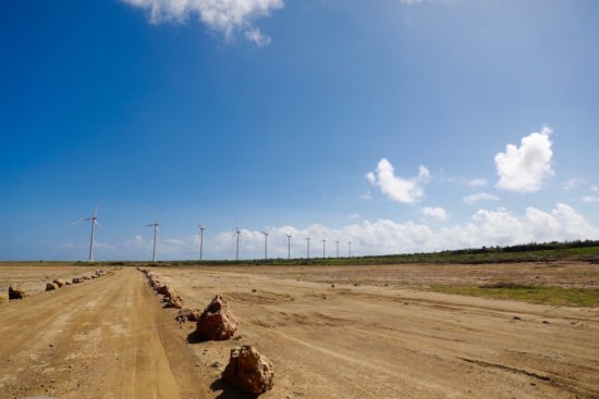 Green energy Aruba wind mills sustainable Aruba