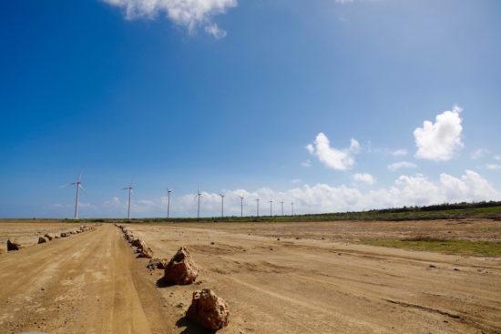 Green energy Aruba wind mills sustainable Aruba