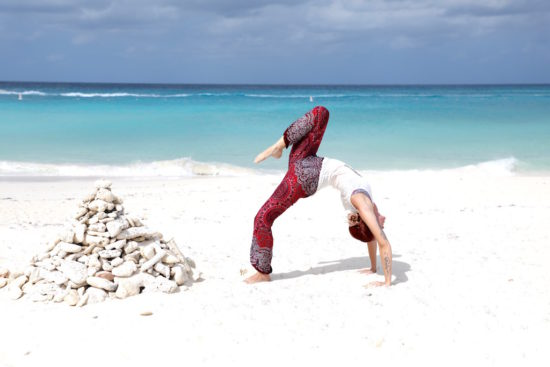 Yoga Aruba purefoodtravel wellness