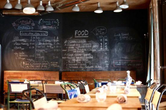 Oficina Brussels restaurants organic vintage