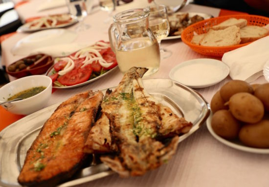 Orvo Olhão fish restaurant