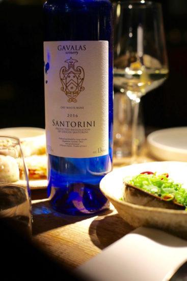 Santorini wine Humphrey Brussels restaurants