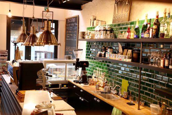 Barista no 75 Ostend coffee bar