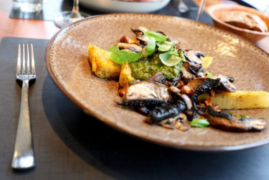 Restaurant Belle de Jour Ostend vegetarian food
